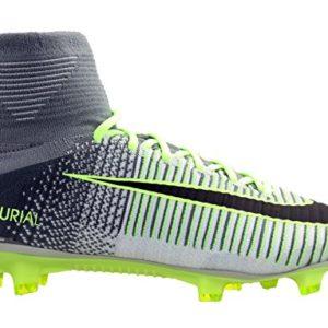 Nike Mercurial Superfly V FG silber weiß